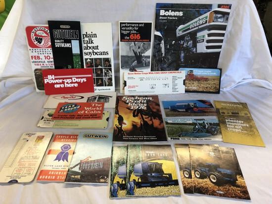 (22) 1970-1990 Brochures