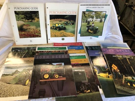 (23) JD Turf Brochures