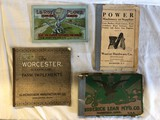 4 Old Implement Catalogs