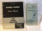 (2) Massey Harris Items