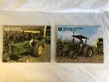(2) JD Tractor Brochures