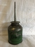 JD Green Oil Can