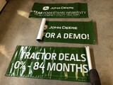 (3) JD Banners