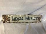 DeLaval Milker Metal Sign