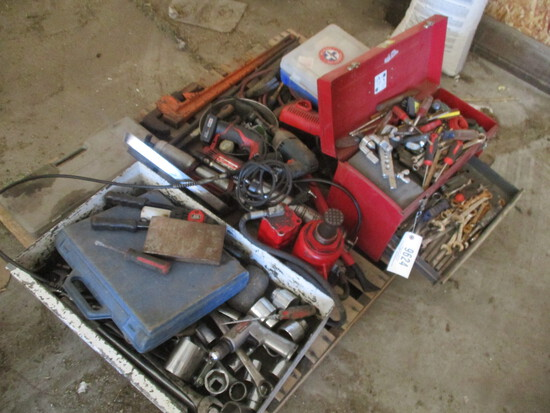 9624-PALLET OF MANY MISC TOOLS