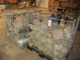 9628-(2) PALLET CRATES OF LANDSCAPING ROCK