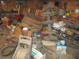 9629-CONTENTS OF WORK BENCHES & MORE