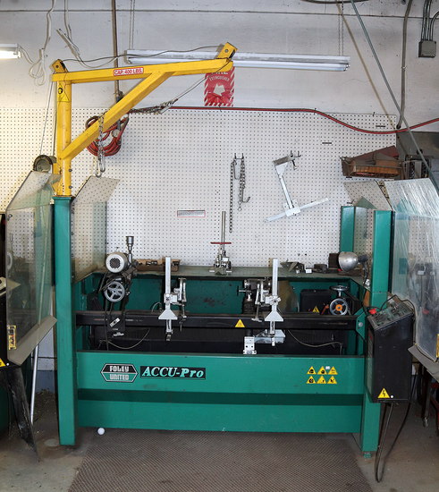 9750- ACU PRO REEL MOWER SHARPENER MODEL 630