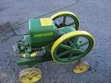 91327-JOHN DEERE 3 HP ENGINE, ON TRUCKS