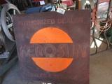 91497-KERO-SUN METAL SIGN