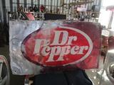 91502-DR. PEPPER METAL SIGN
