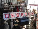 91503-HESSTON METAL SIGN