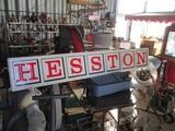 91505-HESSTON METAL SIGN