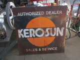 91507-KERO-SUN DEALER METAL SIGN