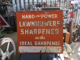 91508-IDEAL SHARPENER METAL SIGN