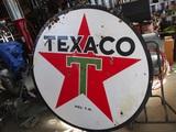 91512-TEXACO PORCELAIN SIGN