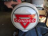 91519-CONOCO ORIGINAL GAS PUMP GLOBE