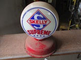 91543-SKELLY GAS PUMP GLOBE