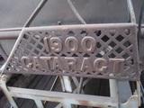91553-CATARACT 1900 BRASS WASHING MACHINE WITH WRINGER