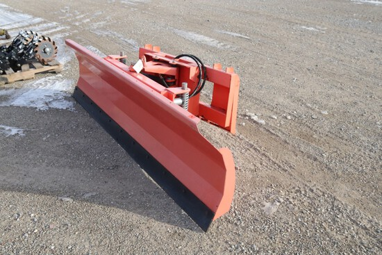 10977- SKID STEER SNOW PLOW