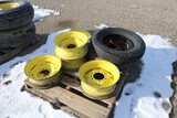 10774- (7) MISCELLANEOUS TIRES AND RIMS