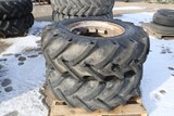 10797- PAIR OF 14.9 X 24 MISMATCHED TIRES