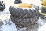 10865- PAIR OF 15.5 X 38 GOODYEAR TIRES