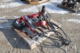 10981- HUTCHISON HYDRAULIC AUGER MOVER