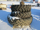 11161- (1) 18.4 X 42 TIRE AND (2) 18.4 X 30 TIRES