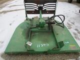 11300- JOHN DEERE BUSH HOG MOWER FOR SKID LOADER