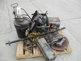 11464- SKID MISCELLANEOUS GREASE PUMPS