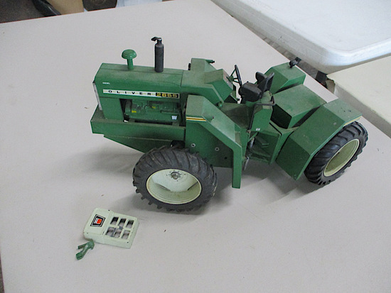 9941-OLIVER 2655 TRACTOR