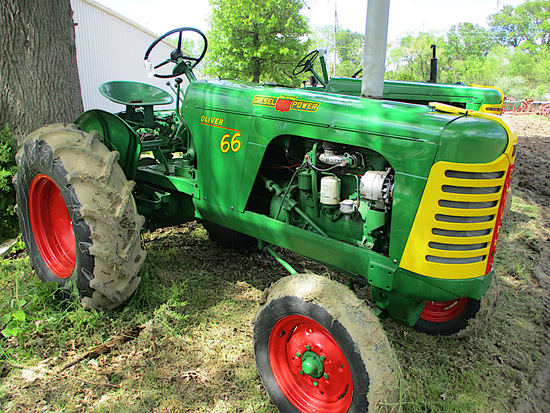 14299-OLIVER 66 TRACTOR