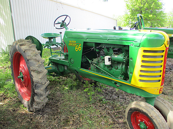 14300-OLIVER 66 TRACTOR