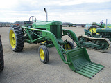 13741-JD 70 TRACTOR AND LOADER
