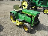 13873-JD 112 L&G TRACTOR