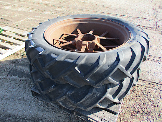 10657-PAIR OF 11-36 TIRES AND RIMS