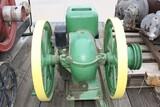 13982-JOHN DEERE TYPE E 1 1/2 H.P. MOTOR