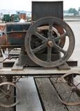 16567-FAIRBANKS-MORSE MODEL Z, 3 H.P. MOTOR ON TRUCKS