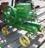 16952-JOHN DEERE 3 H.P. MOTOR ON TRUCKS