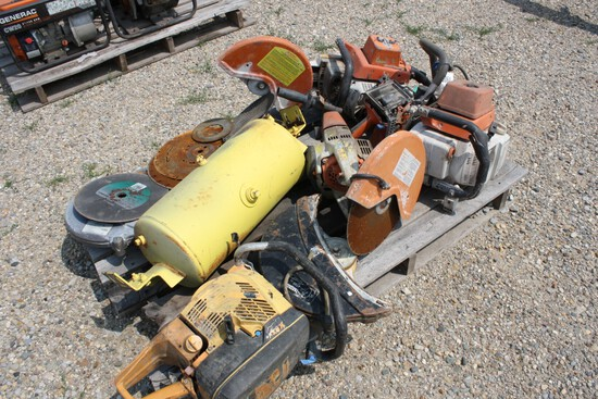 16064-GAS POWERED SAWS AND PARTS