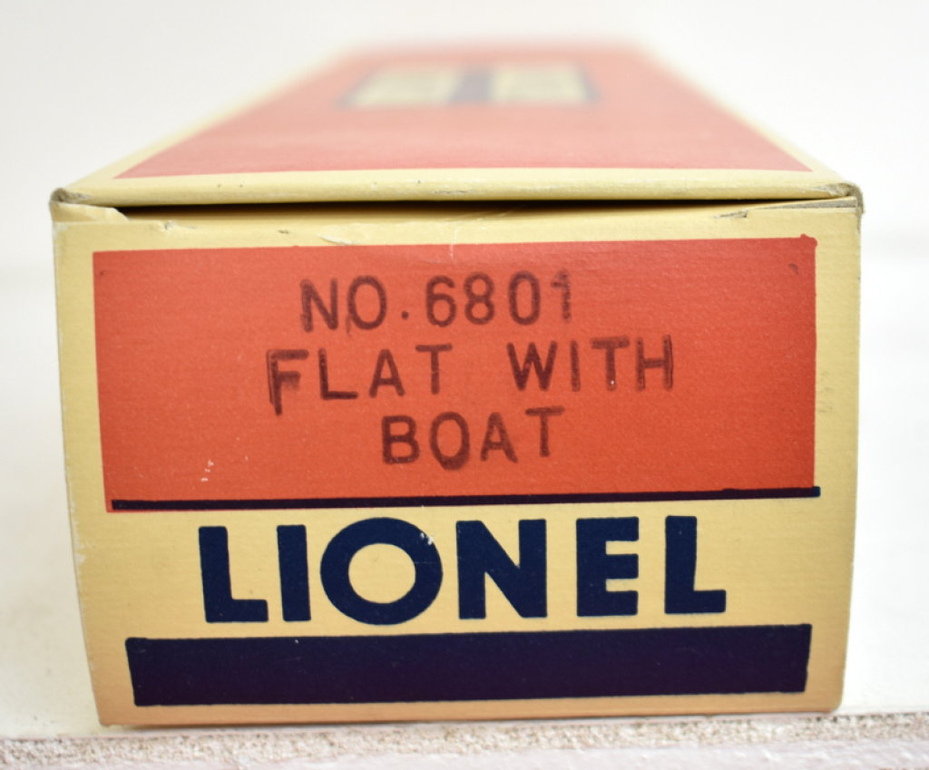 Lionel 6801 Licensed Reproduction Window  Box four boxes