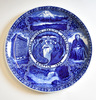 1909 ALASKA-YUKON-PACIFIC EXPOSITION PLATE (ST. JUDE CHARITY LOT)