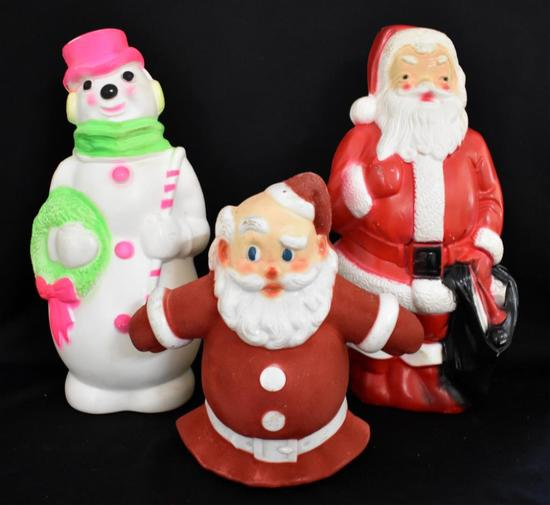 ANTIQUE LIGHT-UP CHRISTMAS DISPLAYS