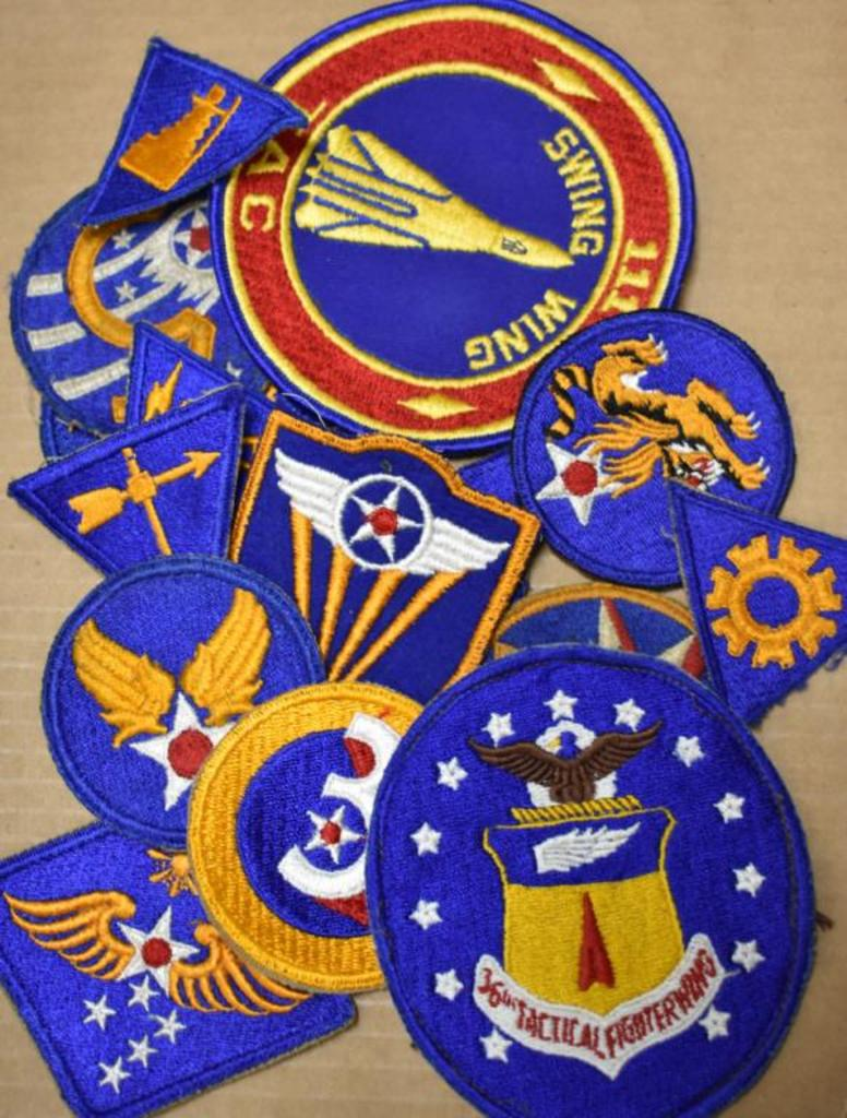 Lot: WWII US ARMY AIR CORPS PATCHES | Proxibid Auctions