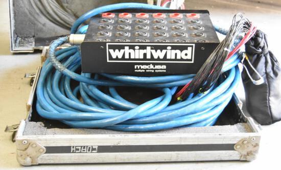 "MEDUSA AUDIO SNAKE ""WHIRLWIND BLUE"""