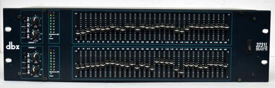 DBX 3231L DUAL-CHANNEL GRAPHIC EQUALIZER