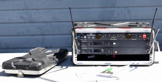 FURMAN SMP-PLUS II POWER CONDITIONER & 2 AUDIX R41 WIRELESS RECEIVERS
