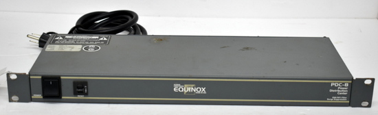 EQUINOX AUDIO CENTRON PDC-8 POWER CONDITIONER