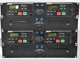 TWO DENON DN2000F MKII CD PLAYERS WITH CONTROLLER